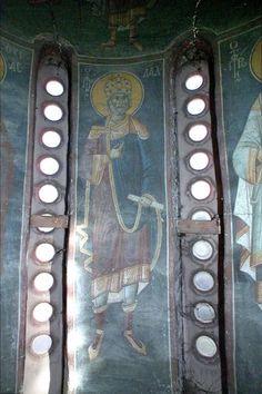 Serbian Culture and Heritage Byzantine Icons, Old Testament, Serbian, Fresco, Saints, David, Digital, Frame, Art