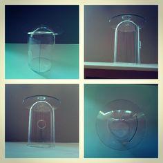 """Yalansız Dünya""         2014 (Saat camı) Glass Vase, Sculpture, Lighting, Home Decor, Decoration Home, Room Decor, Sculptures, Lights, Sculpting"