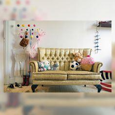 Fairytale 02. Decoración de este dormitorio infantil como en un cuento de hadas vintage.