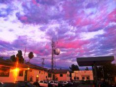 Sunset over Altadena Station. Nov 26, 2013. (Photo Credit: D. Robinson)