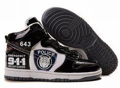 super popular 61daf 390dd Nike Sb Dunk For Men Black 911 Transformers Nike Dunk Shoes