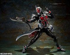 Kirin Hobby : Kamen Rider Wizard (Flame Style) S.I.C. Action Figure by Bandai