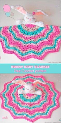 Mesmerizing Crochet an Amigurumi Rabbit Ideas. Lovely Crochet an Amigurumi Rabbit Ideas. Crochet Baby Blanket Free Pattern, Crochet Blanket Edging, Crochet Baby Blanket Beginner, Crochet Lovey, Crochet Baby Toys, Crochet Rabbit, Crochet Headband Pattern, Crochet Unicorn, Crochet Amigurumi