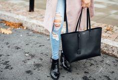 Saint Laurent shopper bag