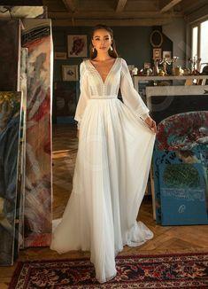 Lace Wedding Dress, Stunning Wedding Dresses, Long Sleeve Wedding, Long Wedding Dresses, Bridal Dresses, Wedding Gowns, Arabic Wedding Dresses, Arab Wedding, Backless Wedding