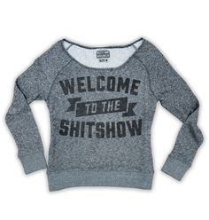 Welcome to the Shitshow Womens Tee Black – Buy Me Brunch