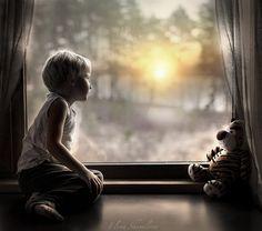 Meeting sunrise by Elena Shumilova