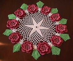 Free Easy Crochet doily Patterns | Doily Doilies - Filet Crochet Doilies Patterns