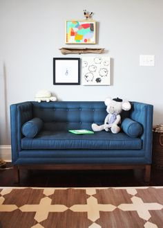 lovely sofa for baby room