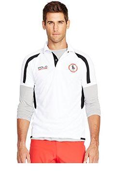 POLO RALPH LAUREN Polo Ralph Lauren Micro-Dot Polo Shirt. #poloralphlauren #cloth #