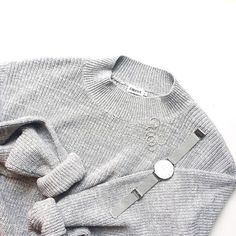 """CLUSE op Instagram: """"Beautiful knits and silver accessories by @myfashioninspo…"""