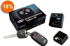 18% Off: Alarma CYBER EX Keyless (Inclonable), Conserva la llave original de tu auto y conecta esta alarma. Podras activar y desactivar la alarma con tu llave. Paga $69.900 en vez de $85.000