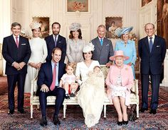 Princess Charlotte was celebrated by her famous family members at the Sandringham House for her christening on July 5, 2015. She was joined for the special day by her great-grandparents, Queen Elizabeth II and Prince Phillip, Duke of Edinburgh, grandparents Prince Charles, Michael and Carole Middleton and Aunt Pippa and Uncle James.