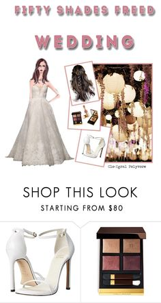 """""""Anastasia Steele : Fifty Shades Freed"""" by clo-egral ❤ liked on Polyvore featuring Stuart Weitzman"""