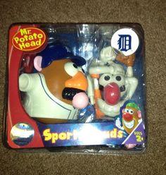 New Detroit Tigers MLB Mr Potato Head Keepsake Toy Sports Memorabilia | eBay