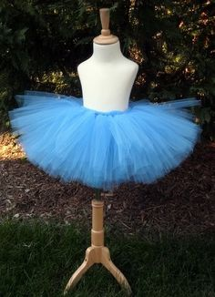 French Blue Teen or  Adult Tutu Sm to Lg by totaltutu on Etsy