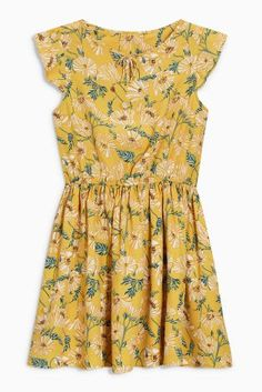 Pretty girls' dresses in denim, skater & midi styles to add to her everyday wardrobe. Next day delivery & free returns available. Yellow Tea Dresses, Annie Costume, Girls Dresses, Summer Dresses, Midi Dresses, Latest Fashion For Women, Mens Fashion, Denim, Pretty