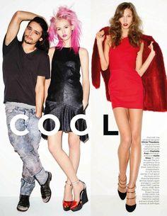 British Vogue - New York Cool  December 2011