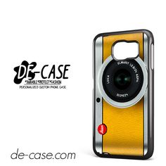 Silver Yelow Leica Camera DEAL-9597 Samsung Phonecase Cover For Samsung Galaxy S6 / S6 Edge / S6 Edge Plus