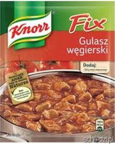 Knorr Fix Gulasz Węgierski - Schodzi.pl
