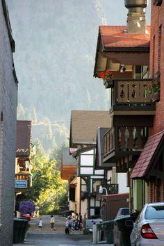 Leavenworth, Washington. An adorable little German village :)