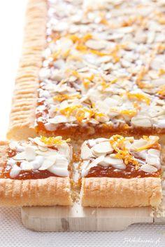 Mazurek migdałowo-pomarańczowy Polish Desserts, Polish Recipes, Cake Recipes, Dessert Recipes, Pumpkin Cheesecake, Food Cakes, Easter Recipes, Coffee Cake, Cake Cookies