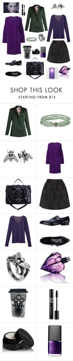 """Creative energy of violet color"" by lorablack ❤ liked on Polyvore featuring Christopher Kane, P.A.R.O.S.H., Alaïa, Petit Bateau, Bianca Di, Yasmin Everley, Diesel, Sourpuss, Christian Dior and NARS Cosmetics"