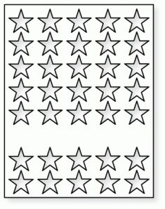 Papertrey Ink - Cover Plate: Stars Die