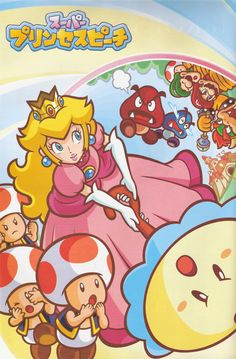 princess peach is often a character in the mario series and plays the part of being kidnapped by bowser. Super Mario Art, Super Mario World, Nintendo Characters, Video Game Characters, Nintendo Games, Mario Bros., Mario And Luigi, Super Princess Peach, Mario Party Games