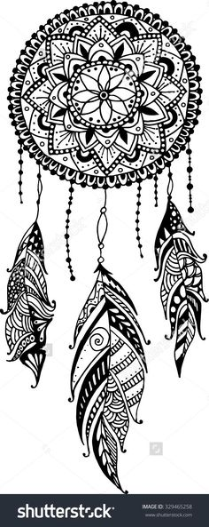 Image result for dreamcatcher tattoos