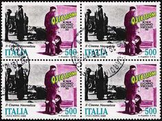 Italy Stamp 1988 - Cinema Ossesione