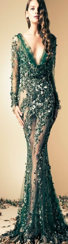 Ziad Nakad 2014 Fall Couture Collection #Luxurydotcom