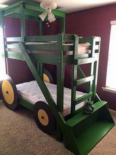 John Deere bunk beds