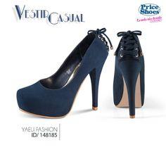 Unos pumps en color azul.  #iLovePS #style #zapatillas #tacones #pump #chic #fashion #fashionable #fashionista #happy #must #sexy #shoes #pumps