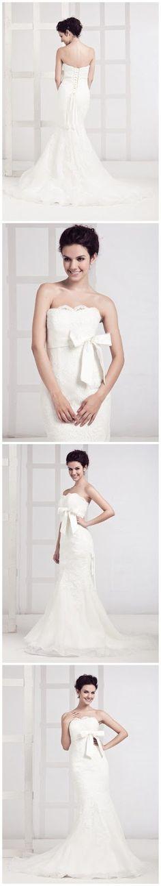 Divine Wedding Dress ~ Wedding Ideas
