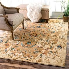 Shop for nuLOOM Traditional Persian Timeless Blossom Ivory Rug (8' x 10'). Get free shipping at Overstock.com - Your Online Home Decor Outlet Store! Get 5% in rewards with Club O! - 18666760