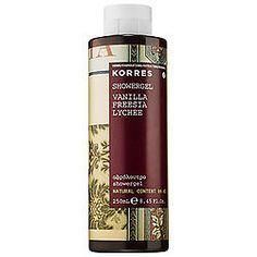 Vanilla Freesia Lychee Shower Gel - KORRES | Sephora