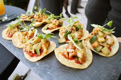 BBQ Shrimp Tostada at Wet Deck at W Chicago Lake Shore