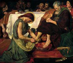 "Ford Maddox Brown ""Jesus Washing Peter's Feet"" @ Tate Britain"
