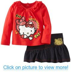 Hello Kitty Baby-Girls Infant Set With Skirt