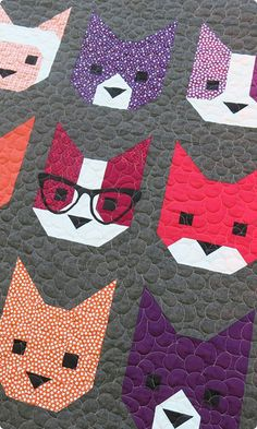 Quilt Pattern | Elizabeth Hartman | The Kittens