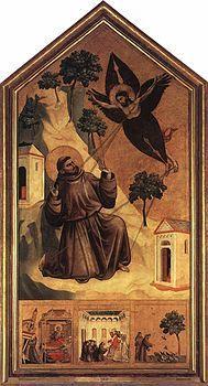 Giotto di Bondone - Stigmatization of St Francis ,