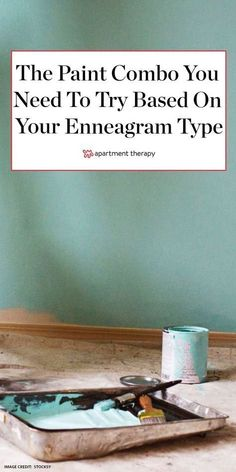 This is the unexpected paint color combo you need to try, based on your enneagram type. #paintcolors #paintprojects #paintideas #colortrends #colorfuldecor