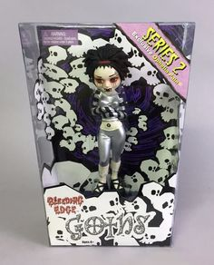 Begoths Ophelia Pain - SILVER exclusive 7 inch #BeGoths #DollswithClothingAccessories