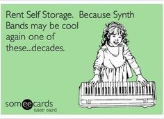 Self #storage is great for all those things that may come back in #style...someday