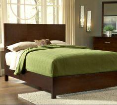 $586.95  Modus Furniture International Modera Panel Bed, King, Chocolate Brown Modus Furniture http://www.amazon.com/dp/B007V98R62/ref=cm_sw_r_pi_dp_ujlJtb12MB4J7KZ4