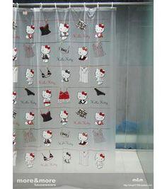 Cute Hello Kitty Pattern EVA Shower Curtain MM2012-Wholesale Faucet