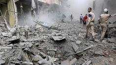 Suriye rejimi Halep'te yerleşim yerini bombaladı: 7 ölü, 30 yaralı