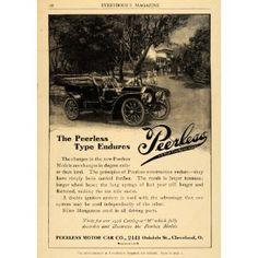 1908 Ad Peerless Motor Car Co
