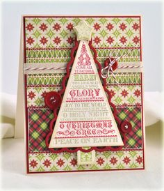 O Christmas Tree Clear Stamps